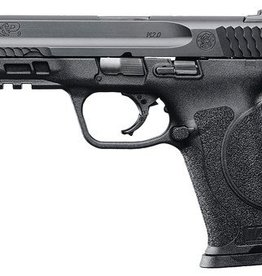 Smith and Wesson S&W M&P9 M2.0 Striker Fire 9mm 4.25 Inch Barrel Black Armornite Finish White Dot Sights Polymer Frame/Grips 17 Round