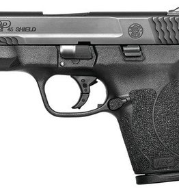 Smith and Wesson S&W Model M&P Shield No Thumb Saftey 45 Auto 3.3 Inch Barrel Matte Black Stainless Steel Slide Black Polymer Frame 7 Round