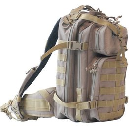 G outdoors GPS Tactical Loaded Bugout Backpack Tan