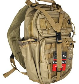 Allen Company ALC Lite Force Tactical Sling Pack 18x9.75x7.5 Inches Tan