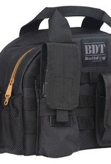 Bulldog BDC BDT Tactical Range Bag With MOLLE Pouches Black