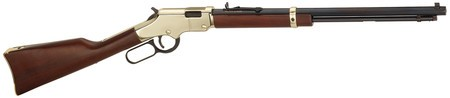 Henry HRA Golden Boy .22 Long Rifle/.22 Short 20 Inch Octagonal Barrel Blue Finish Walnut Stock 21 Round Short