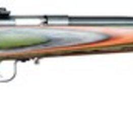 KSA KSA Model 252 Youth With Lock .22 Long Rifle 16.125 Inch Barrel Blue Finish Laminated Camouflage Stock Single Shot