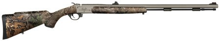 TRADITIONS TRA Northwest Traditions Pursuit G4 Rifle .50 Caliber Magnum 26 Inch Ultralight Tapered Fluted Barrel Premium Cerakote Finish Realtree Xtra Camo Stock Northwest Traditions Pursuit G4 Rifle
