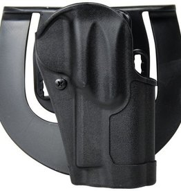Blackhawk BHP Standard CQC Holster for Colt 1911 Commander and Most Clones With or Without Standard Rail Matte Finish Black Right Hand