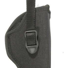 Blackhawk BHP Nylon Hip Holster for 5-6.5 Inch Barrel Medium/Large Double Action Revolvers Black Right Hand