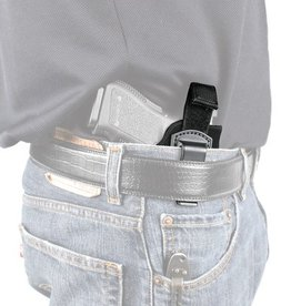 Blackhawk BHP Inside The Pant Holster With Retention Strap for 4 Inch Barrel Medium and Intermediate Double Action Revolvers Black Right Hand