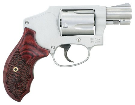 Smith and Wesson S&W Performance Center Model 642 Enhanced Action .38 S&W Special +P 1.875 Inch Barrel Matte Silver Finish Integral Front