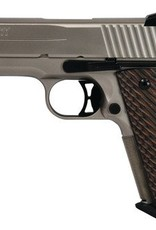 Sig Sauer SIG 1911 Nickel Compact .45 ACP 4.2 Inch Barrel Low Profile Night Sights Nickel Nitron Finish Laminated Grips 7 Round