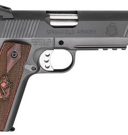 Springfield SAI Model 1911 Range Officer Operator .45 ACP 5 Inch Stainless Steel Barrel Fiber Optic Front Sight Carbon Steel Frame/Slide