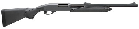 Remington REMINGTON REM Model 870 Express Compact Combo 20 Gauge 21 Inch Vent Rib Barrel and 20 Inch Fully Rifled Deer Barrel Synthetic Stock Matte Black Finish 4 Round