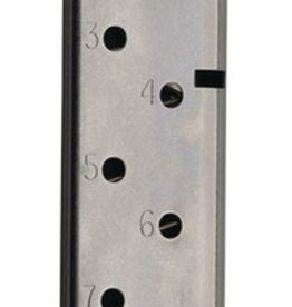 CMC CMC Magazine for 1911 Officer's Match Grade .45ACP 7 Round Stainless Steel