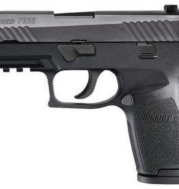 Sig Sauer SIG P320 Compact Striker RX 9mm 3.9 Inch Barrel Siglite Night Sights Black Nitron Slide Finish Romeo 1 Reflex Sight 15 Round