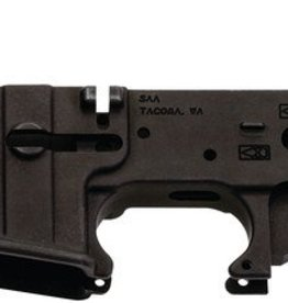 SAA SAA Skull Logo AR15 Multi-Caliber Stripped Lower Forged Aluminum
