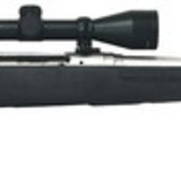 Savage SVG AxisII XP .308 Winchester 22 Inch Barrel Stainless Steel Finish Black Synthetic Stock 4 Rounds Includes 3-9x40mm Kaspa Riflescope