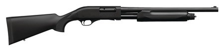 Weatherby WTH Model PA-08 TR Home Defense 12 Gauge 19 Inch Cylinder Bore Barrel Chrome-Lined Matte Black Finish Black Synthetic Stock 5 Round