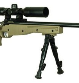 KSA KSA Crickett Precision Rifle Single Shot Package .22 Long Rifle 16.1 Inch Threaded Bull Barrel Blue Finish Precision Target Stock With Bi-pod and Riflescope