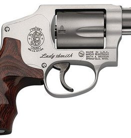 Smith and Wesson S&W Model 642 LadySmith .38 Special +P 1.875 Inch Barrel Matte Silver Finish Fixed Sight Internal Lock 5 Round