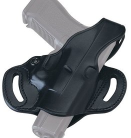 GAL Cop Slide Holster For Glock 17/19/22/23/26/27/31/32/33/34/35 Black Right Hand