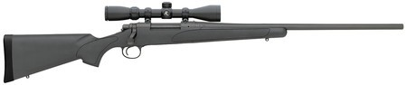 Remington REM Model 700 ADL Rifle/Scope Combo .270 Winchester 24 Inch Blued Barrel Black Synthetic Stock 4 Round Capacity With Factory Mounted Riflescope