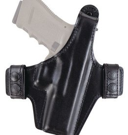 Bianchi BNI Model 130 Allusion Series Classified Thumb Break Retention Holster Size13 for Glock 17/22/31 Black Right Hand