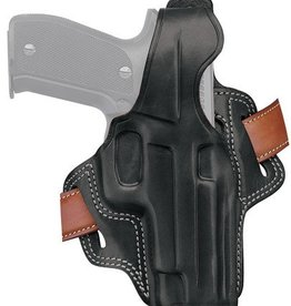 Galco GAL Fletch High Ride Holster For Sig Sauer P230/232 Black Right Hand