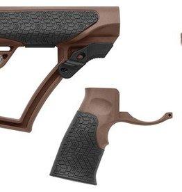Daniel Defense DAN Buttstock/Pistol Grip/Vertical Foregrip Combo Mil Spec+