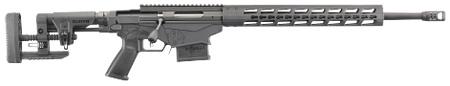 Ruger RUG Ruger Precision Rifle 5.56mm 20 Inch Steel Threaded Barrel 5R Rifling Hybrid Muzzle Brake RPR Short-Action Handguard MSR Folding Adjustable Stock 10 Round