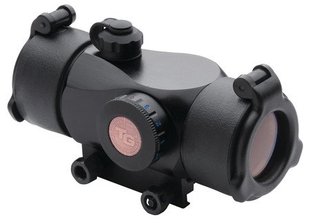 TRUGLO TGI Triton 30mm Tri-Color 5 MOA Dot Reticle Black
