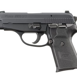 Sig Sauer SIG P239 SAS Generation 2 Compact 9mm 3.6 Inch Barrel Black Nitron Finish Siglite Night Sights Black Grips 8 Round P239 SAS Gen2 Compact