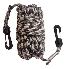 Primos Hunting PRI Pull-Up Nylon Rope With Snap Hooks At Both Ends 30 Feet Camouflage