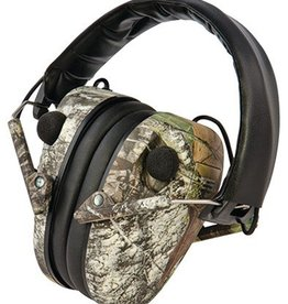 Caldwell PAS E-MAX Low Profile Electronic Hearing Protection Mossy Oak Breakup