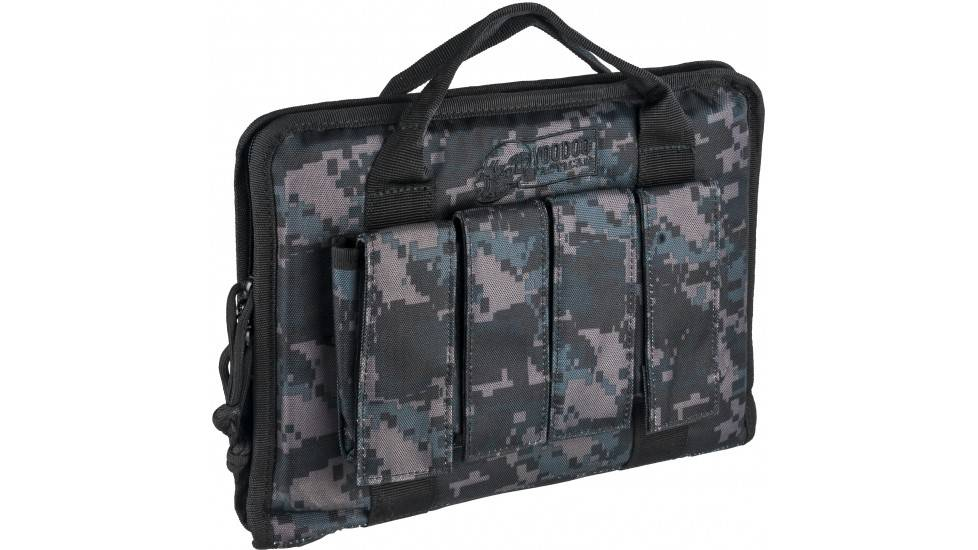 Voodoo Tactical Voodoo Tactical Pistol Case With Mag Pouches