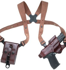 Galco GAL Original Jackass Rig For 1911 Style Pistols Havana Brown Right Hand
