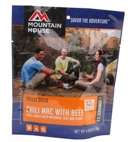 Mountain House Mountain House Freeze Dried Food Chili Macaroni with Beef and Beans Single Pouch