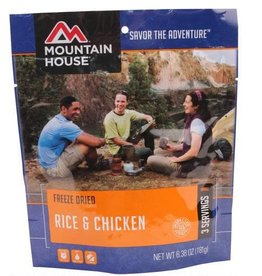 Mountain House Mountain House Freeze Dried Food Rice and Chicken Single Pouch
