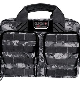 G.P.S. GPS Tactical Quad +2 Pistol Cases Black Gray Digital