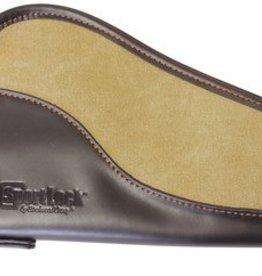 BWC SportLock Leather and Canvas Handgun Case 8 Inch