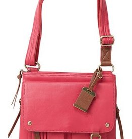 Bulldog BDC Cross Body Series Concealed Carry Purse Medium Pink