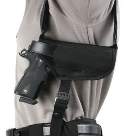 Blackhawk BLACKHAWK!	 BHP Nylon Horizontal Shoulder Holster for 3.75-4.5 Inch Barrel Medium Autos Black Right Hand