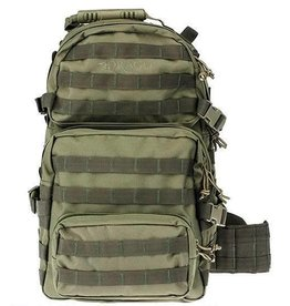 """Drago DRAGO Gear Assault Backpack 20""""x15""""x13"""" 600D Polyester Green 14-302GR"""