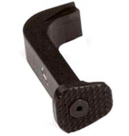 ZEV ZEV Technologies ZEV Extended Mag Release Small GLOCK Gen 1-3 9mm/.40 S&W/.357 SIG Aluminum Black MR-SM-3G-B