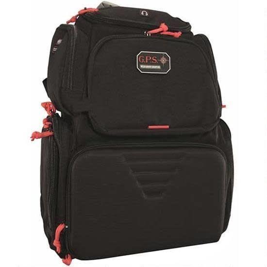 gps G Outdoors Handgunner Backpack Black GPS-1711ROBP