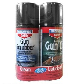 Birchwood Casey Birchwood Casey Gun Scrubber and Synthetic Gun Oil Value Pack 10 oz Aerosol Cans