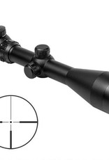 "NcStar NcSTAR 3-12x50mm Euro Series Gen 2 30mm Tube 1/4"" MOA Adjustment Illuminated Small Dot Plex Reticle Anodized Aluminum Black"