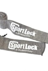 "Birchwood Casey Birchwood Casey SportLock 53""x4"" Long Gun Cotton Silicone Sleeve Grey"