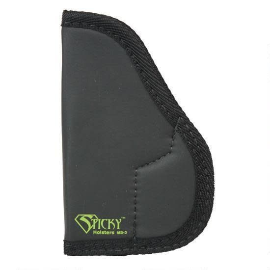 Sticky Holsters Sticky Holsters Holster for Small to Med frame .380 ACP/9mm or Similar Ambidextrous Black