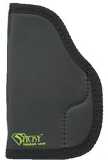 """Sticky Holsters Sticky Holster LG-6 Short IWB Holster Ambidextrous Large Frame Semi Auto Pistols 3"""" to 4"""" Barrels Sticky Skin Material Matte Black Finish"""