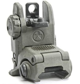 Magpul Magpul AR-15 MBUS Gen 2 Flip-Up Rear Sight Polymer Gray MAG248-GRY