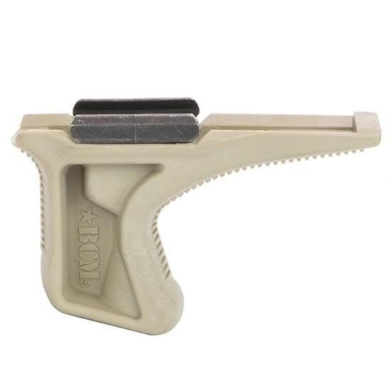 BCM Bravo Company USA Gunfighter Kinesthetic Angled Grip Picatinny 1913 Rail Version Flat Dark Earth BCM-KAG-1913-FDE